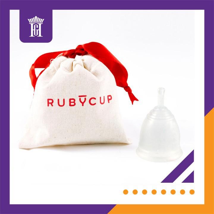 Cốc nguyệt san Ruby cup, Anh, màu Trong Size M, NK độc quyền 2