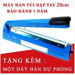 Máy hàn miệng túi hàn nilong dập tay 20cm PFS200