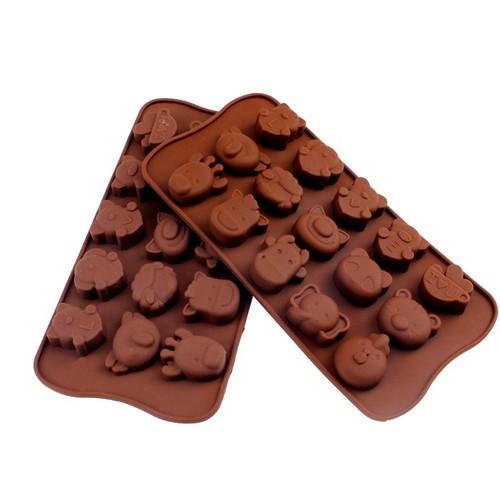 Bộ 2 Khuôn Silicon làm thạch rau câu, socola 15 Động Vật Ngộ Nghĩnh - 5628498 , 12056470 , 15_12056470 , 60000 , Bo-2-Khuon-Silicon-lam-thach-rau-cau-socola-15-Dong-Vat-Ngo-Nghinh-15_12056470 , sendo.vn , Bộ 2 Khuôn Silicon làm thạch rau câu, socola 15 Động Vật Ngộ Nghĩnh