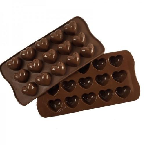 Bộ 2 Khuôn Silicon làm thạch rau câu, socola 15 trái tim Giọt Nước - 5628712 , 12056503 , 15_12056503 , 52000 , Bo-2-Khuon-Silicon-lam-thach-rau-cau-socola-15-trai-tim-Giot-Nuoc-15_12056503 , sendo.vn , Bộ 2 Khuôn Silicon làm thạch rau câu, socola 15 trái tim Giọt Nước