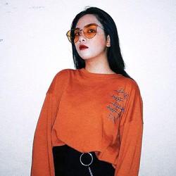 Áo sweater unisex fine cam