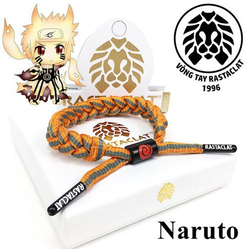 Vòng tay Rastaclat Naruto [Box Cao Cấp + Tag][Hình Thật]
