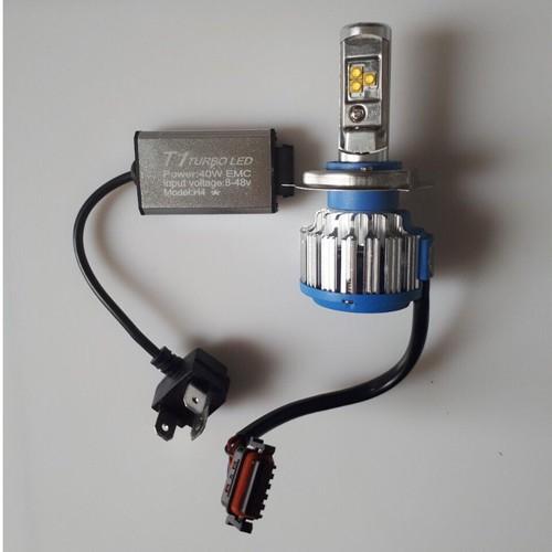 Đèn pha led Turbo T1 thế hệ mới