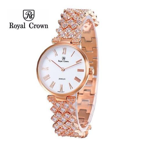 Đồng hồ nữ chính hãng Royal Crown 2601 dây đá vỏ vàng hồng - 5632137 , 12060419 , 15_12060419 , 4899000 , Dong-ho-nu-chinh-hang-Royal-Crown-2601-day-da-vo-vang-hong-15_12060419 , sendo.vn , Đồng hồ nữ chính hãng Royal Crown 2601 dây đá vỏ vàng hồng