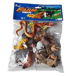 Túi đồ chơi bộ sưu tập 12 con giáp bằng nhựa dành cho bé H642