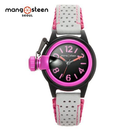 Đồng hồ nữ MS511C MANGOSTEEN SEOUL Hàn Quốc dây da tổng hợp