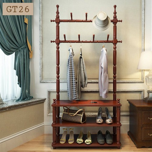 Giá treo quần áo đa năng bằng gỗ cao cấp, kích thước 80 x 30 x 180 cm - 5631734 , 12059891 , 15_12059891 , 1999000 , Gia-treo-quan-ao-da-nang-bang-go-cao-cap-kich-thuoc-80-x-30-x-180-cm-15_12059891 , sendo.vn , Giá treo quần áo đa năng bằng gỗ cao cấp, kích thước 80 x 30 x 180 cm