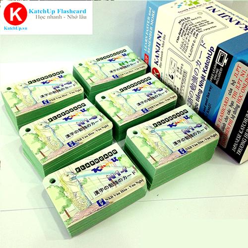 COMBO trọn bộ cao cấp tiếng Nhật N1 | KatchUp Flashcard