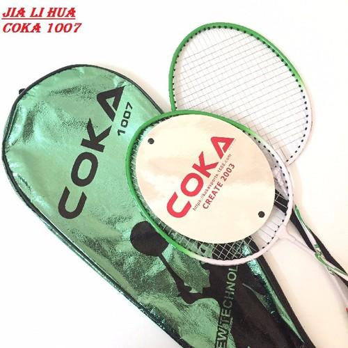 Bộ 2 vợt cầu lông Coka cao cấp 1007 - 10876340 , 12089106 , 15_12089106 , 170000 , Bo-2-vot-cau-long-Coka-cao-cap-1007-15_12089106 , sendo.vn , Bộ 2 vợt cầu lông Coka cao cấp 1007