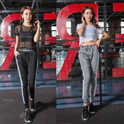 Bộ quần áo thể thao nữ set bộ 3 cái TB0834