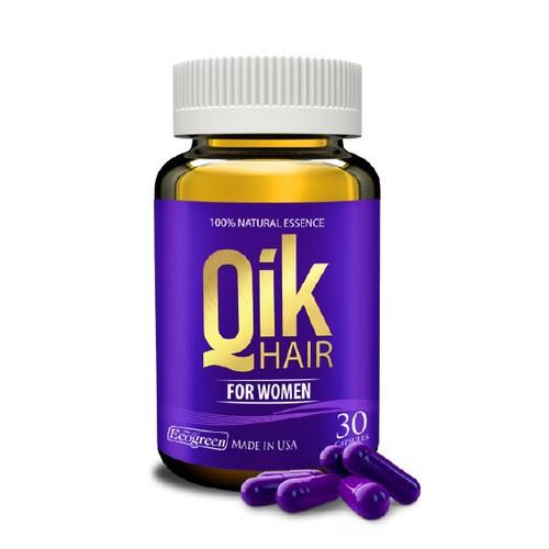 Qik Hair For Women, Viên Mọc Tóc Cho Nữ, 30 Viên