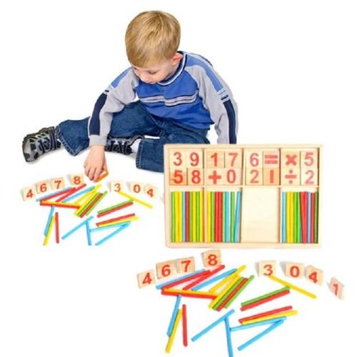 Đồ chơi cho bé -Đồ chơi hộp que tính toán