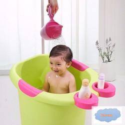 Ca múc nước tắm bé vòi sen cao cấp siêu cute, đồ chơi tắm bé