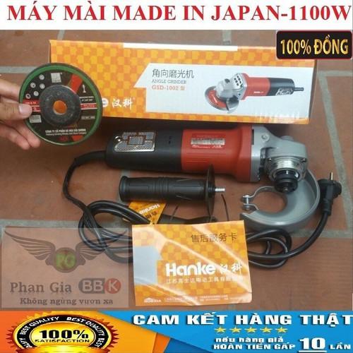 MÁY MÀI MADE IN JAPAN 1100W -  TẶNG ĐÁ MÀI