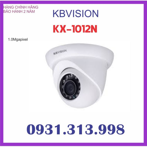 Camera KBVISION IP 1.0 mp KX-1012N
