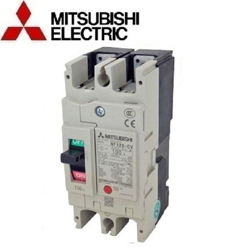 APTOMAT Át khối dòng kinh tế 2 Pha Mitsubishi 2P NF125-CV