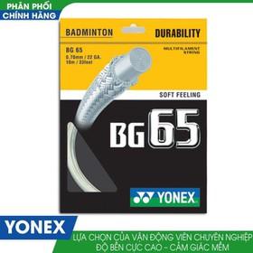 Dây Cước Căng Vợt Cầu Lông Yonex BG 65 - Yonex BG 65