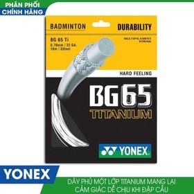 Dây Cước Căng Vợt Cầu Lông Yonex BG 65 Titanium - Yonex BG 65 Titanium
