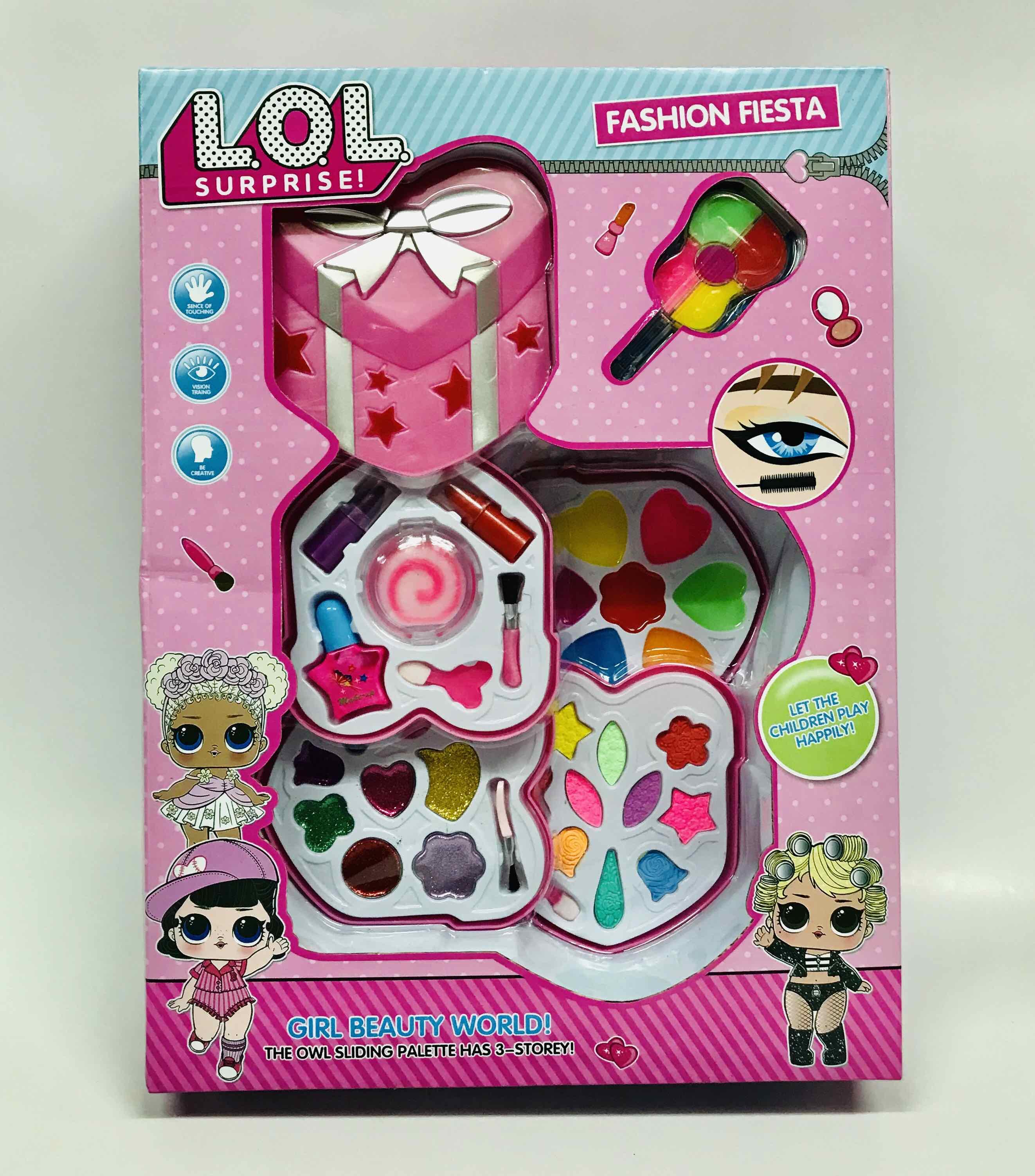 Shop đồ chơi trẻ em KIM LONG: Bộ đồ chơi trang điểm thật cho bé của búp bê LOL - TRANGDIEM2   Sendo.vn