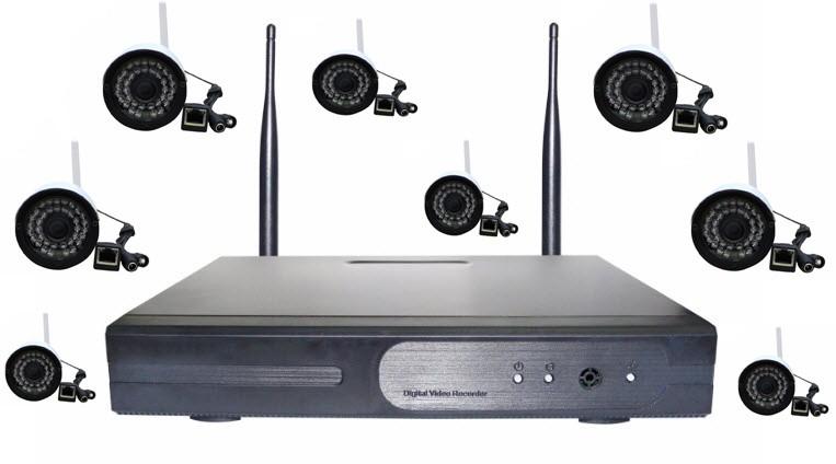 camera kit 8 mắt tặng ổ cứng 500g 2