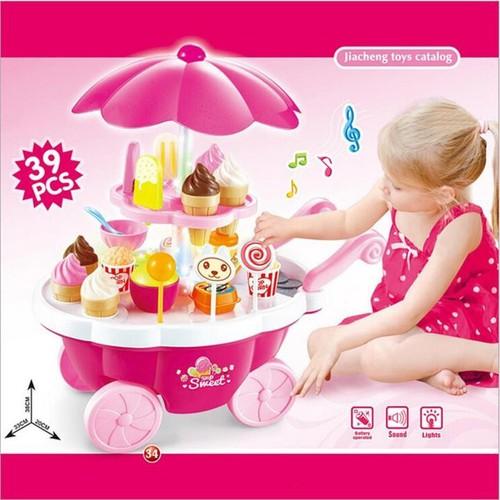 Bộ Đồ Chơi Xe Đẩy Bánh Kem Có Đèn,Nhạc Cho Bé - 5653320 , 12087483 , 15_12087483 , 260000 , Bo-Do-Choi-Xe-Day-Banh-Kem-Co-DenNhac-Cho-Be-15_12087483 , sendo.vn , Bộ Đồ Chơi Xe Đẩy Bánh Kem Có Đèn,Nhạc Cho Bé