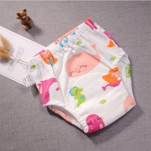 Quần bỉm vải cho bé  dùng được nhiều lần