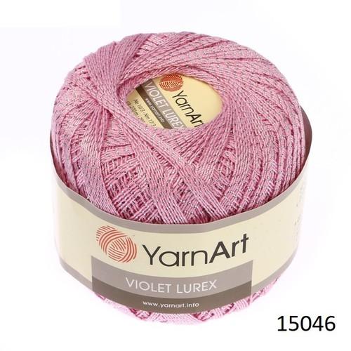 Sợi YarnArt Violet Lurex 15046