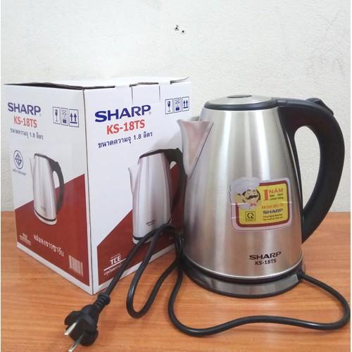 Ấm Siêu Tốc Cao Cấp INOX 304 Sharp KS 18TS Thailand BH 12T - 5655380 , 12089916 , 15_12089916 , 450000 , Am-Sieu-Toc-Cao-Cap-INOX-304-Sharp-KS-18TS-Thailand-BH-12T-15_12089916 , sendo.vn , Ấm Siêu Tốc Cao Cấp INOX 304 Sharp KS 18TS Thailand BH 12T