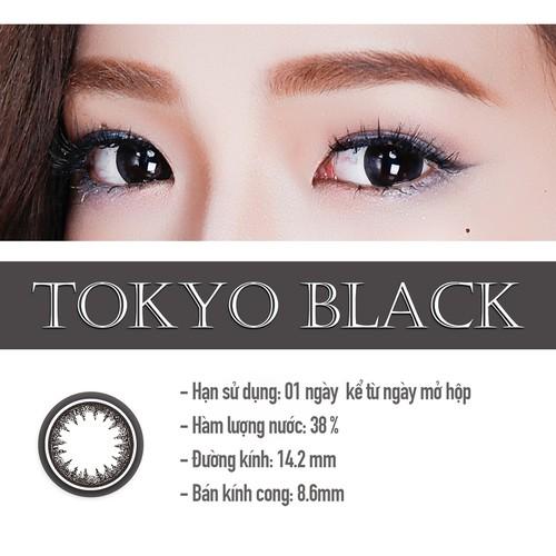 Kính áp tròng màu dùng 1 ngày Eye Secret Contact Lens - TOKYO BLACK