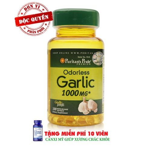 Tăng miễn dịch dầu tỏi không mùi Odorless Garlic 1000mg - 5658213 , 12094831 , 15_12094831 , 345000 , Tang-mien-dich-dau-toi-khong-mui-Odorless-Garlic-1000mg-15_12094831 , sendo.vn , Tăng miễn dịch dầu tỏi không mùi Odorless Garlic 1000mg