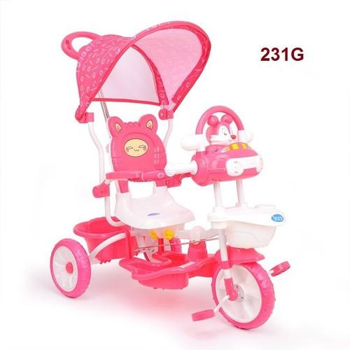 xe 3 bánh có tay đẩy và máy che - 5657785 , 12094225 , 15_12094225 , 740000 , xe-3-banh-co-tay-day-va-may-che-15_12094225 , sendo.vn , xe 3 bánh có tay đẩy và máy che