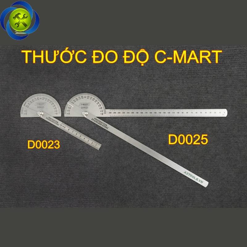 Thước đo độ C-Mart D0025 250mm 2