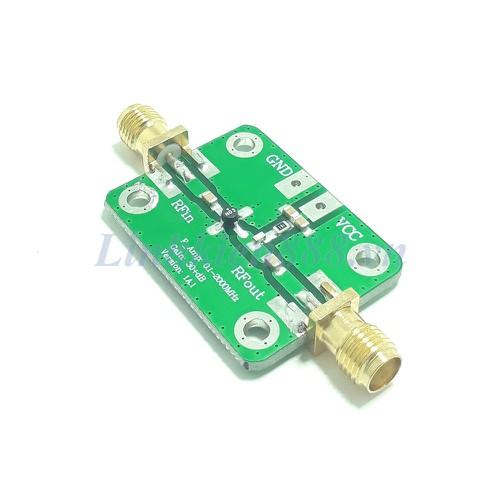 Bộ khuếch đại tạp âm thấp LNA 30dB tần số 0.1Mhz đến 2Ghz
