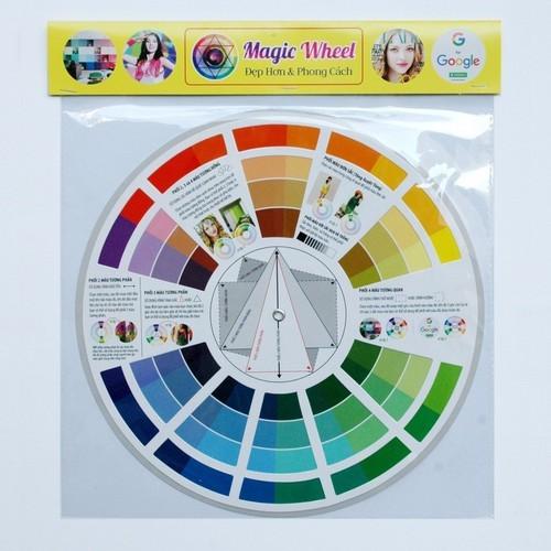 Combo 2 vòng quay Magic Wheel -  hỗ trợ bạn phối đồ trông như Showbiz