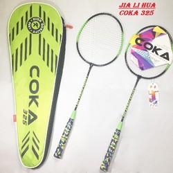 [FREESHIP_49K] Bộ 2 vợt cầu lông COKA 325 cao cấp | Vợt cầu lông thi đấu