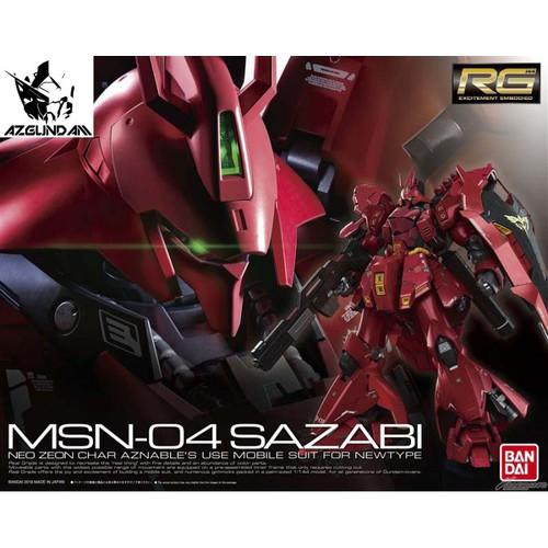 Đồ chơi mô hình lắp ráp Gundam Bandai RG 29 Sazabi