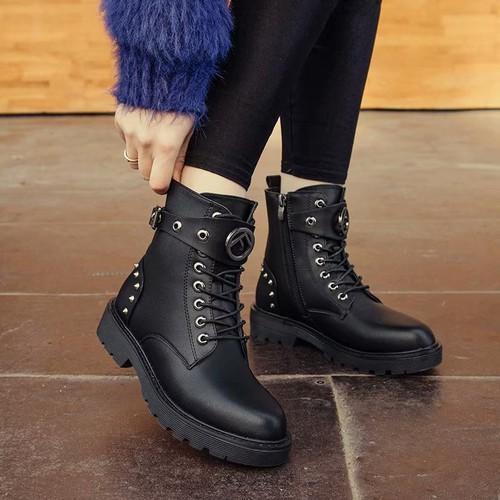Giày Boot nữ thời trang cá tính B121