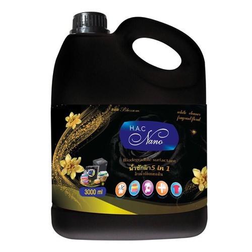 Nước giặt xả 5in1 NANO đen 3L