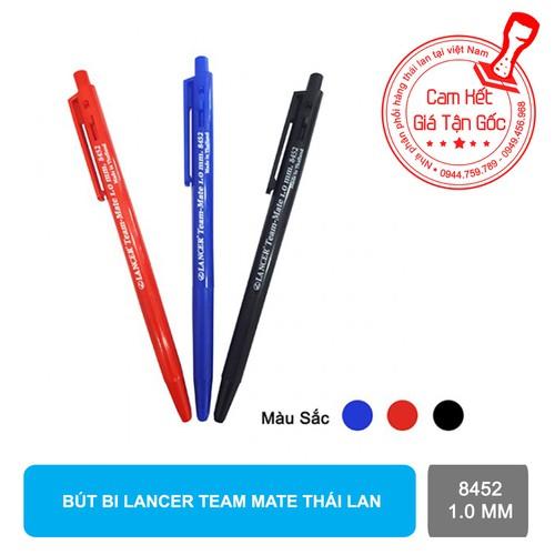 Bút bi Lancer Team Mate 8452 1.0 mm thái lan x 50 cây - 5665127 , 12103485 , 15_12103485 , 250000 , But-bi-Lancer-Team-Mate-8452-1.0-mm-thai-lan-x-50-cay-15_12103485 , sendo.vn , Bút bi Lancer Team Mate 8452 1.0 mm thái lan x 50 cây