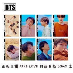 Lomo Card Hộp 30 Hình Nhóm BTS Album Tear