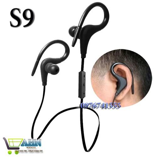 Tai nghe Bluetooth móc tai dáng thể thao S9