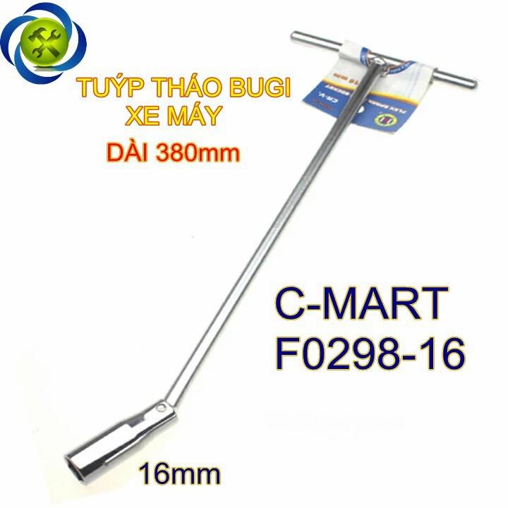 Tuýp tháo bugi dài C-Mart F0298-16 16mm 1