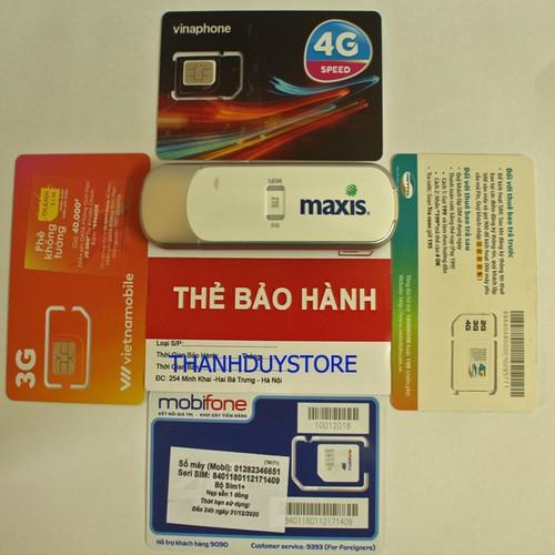 USB Phát Wifi 3G 4G Maxis MF70 - Thiết kế nhỏ gọn phát wifi MẠNH - 5679233 , 12120049 , 15_12120049 , 700000 , USB-Phat-Wifi-3G-4G-Maxis-MF70-Thiet-ke-nho-gon-phat-wifi-MANH-15_12120049 , sendo.vn , USB Phát Wifi 3G 4G Maxis MF70 - Thiết kế nhỏ gọn phát wifi MẠNH