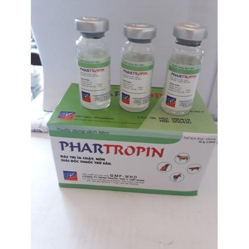 2 lọ Phartropin đặc trị tiêu chảy Nôn