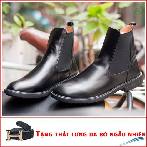 Giày boot nam|Chelsea boot cổ cao da bò màu đen CB540TL - 4512290 , 12374062 , 15_12374062 , 1230000 , Giay-boot-namChelsea-boot-co-cao-da-bo-mau-den-CB540TL-15_12374062 , sendo.vn , Giày boot nam|Chelsea boot cổ cao da bò màu đen CB540TL