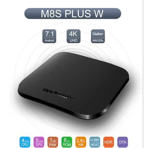 Android tv box 4k quad core 64bit android 7.1 - best seller tony