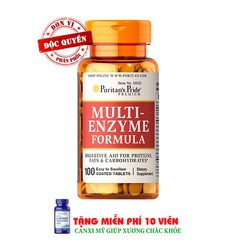Men tiêu hóa Multi Enzyme Formula 60 viên