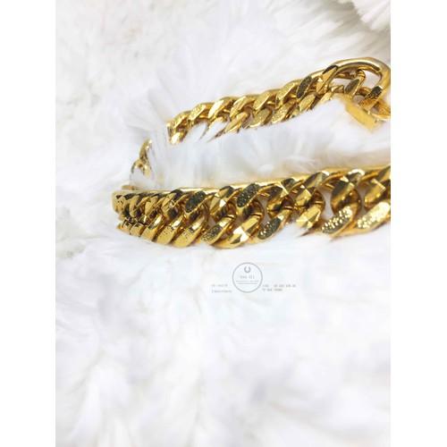 lắc tay nam nữ vàng 24k cực đẹp