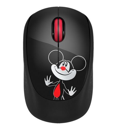 Chuột máy tính không dây Mouse Mini 1600DPI Wireless FD I361 Black