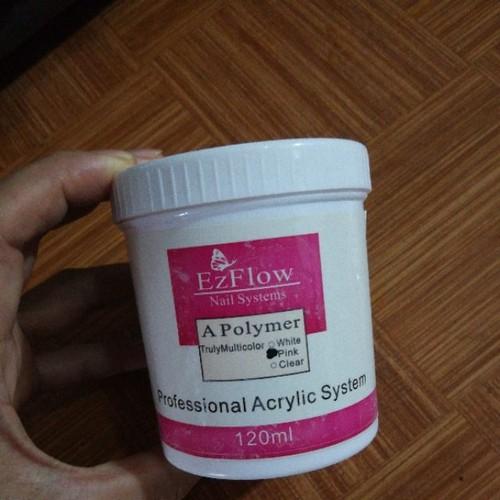 bột đắp móng 120g trắng hồng